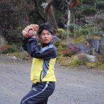 大学野球日本一を目指す 藤本王将さん(18)