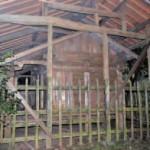 水上村指定有形文化財「岩野霧島神社本殿」