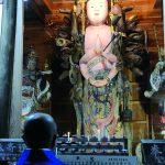 県指定重要文化財「栖山観音」