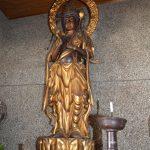 村指定有形文化財「木造聖観音立像」