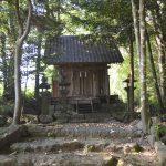 多良木町指定重要文化財「諏訪神社本殿」