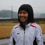 「全国高校駅伝の舞台で活躍を誓う」 栗原 泉さん(14) 湯前中学校3年