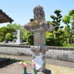 多良木町指定有形文化財「久米堂山の笠塔婆」