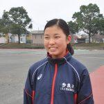 「全中で活躍できるジャンパーを目指す」 寺田優花さん(14)多良木中2年(走り幅跳び)