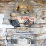 水上村指定文化財「阿弥陀如来尊坐像」