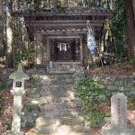 多良木町指定文化財「久米治頼神社社殿及び木造男女神坐像」