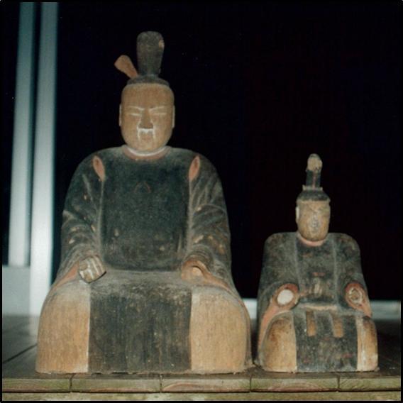木造神像(緒方庄右衛門作)