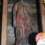 水上村指定有形文化財「木造十一面観世音菩薩立像」