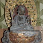 多良木町指定有形文化財「木造虚空蔵菩薩坐像」