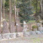 多良木町指定有形文化財「熊野座神社相良氏関連古塔碑群」