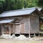 多良木町指定有形文化財「東光寺八幡神社」